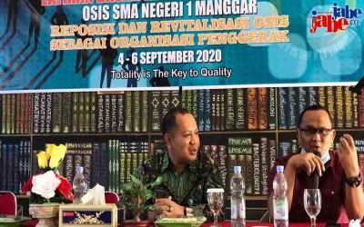 LDK OSIS SMA Negeri 1 Manggar: Reposisi dan Revitalisasi OSIS Sebagai Organisasi Penggerak