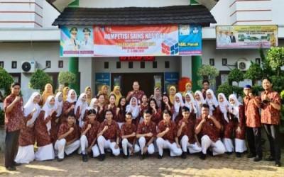 SMA 1 Manggar Rebut 8 Emas, Pertahankan Gelar Juara Umum Ajang Sains Nasional 2021 Belitung Timur