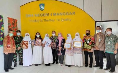 3 Srikandi Alumni SMAN 1 Manggar Terima Beasiswa Prestasi Talenta LPDP