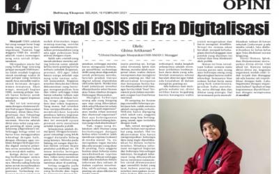Divisi Vital OSIS di Era Digitalisasi