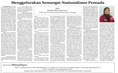 Menggelorakan Semangat Nasionalisme Pemuda