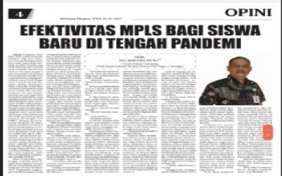 EFEKTIVITAS MPLS BAGI SISWA BARU DI TENGAH PANDEMI