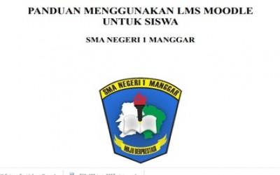 Panduan Menggunakan LMS Moodle Untuk Siswa SMA Negeri 1 Manggar