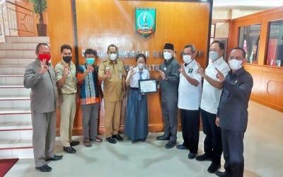 DPRD Belitung Timur Apresiasi Gaby yang Lolos dalam Lomba Parlemen Remaja 2021
